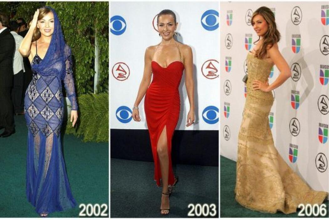 Thalía lo ha experimentado todo en cuanto a moda y estilo.