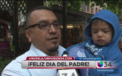 ¡Angelinos celebraron el día del padre!