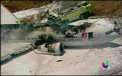 Trágico accidente aéreo en San Francisco
