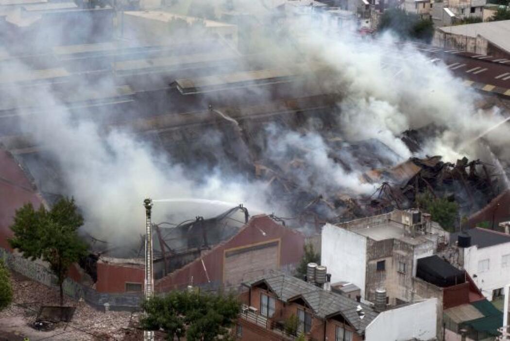 Las muertes se produjeron al derrumbarse parte de la mampostería del edi...