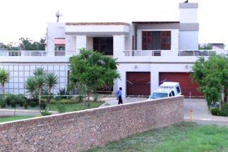La casa de Pistorius en la residencia Silver Woods Country en Pretoria.
