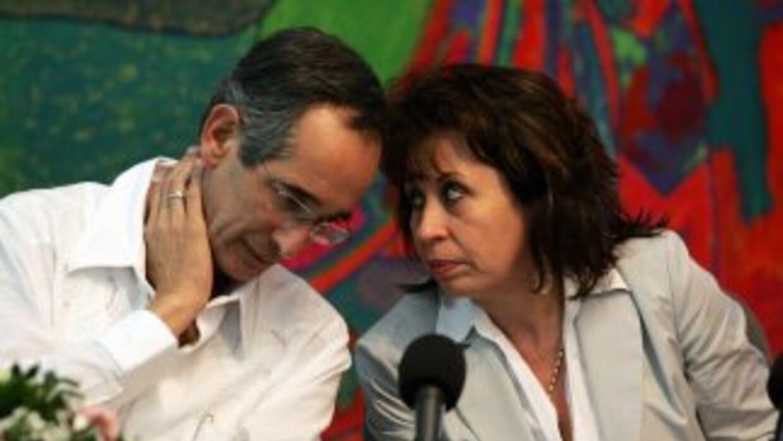 El presidente de Guatemala, Alvaro Colom se divorciará de su esposa Sand...