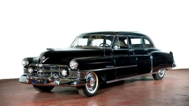 Este Cadillac de 1951 sirvió como vehículo personal de Eva Perón.