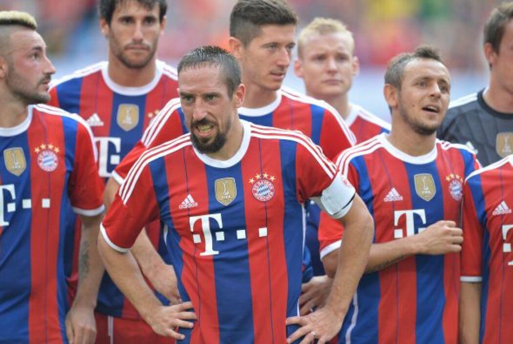 El Bayern Munich está listo para encarar a las estrellas de la MLS en la...