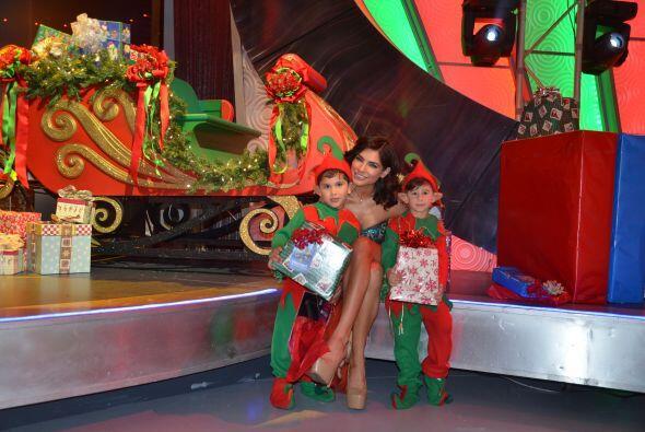 Alejandra Espinoza seguro pidió algo muy especial en esta Navidad...