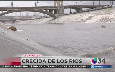 Cuidado con la crecida de los ríos
