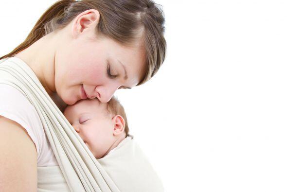 Usar un portador de bebé realmente puede lograr una gran conexi&o...