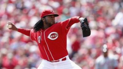 Johnny Cueto ha empezado espectacularmente la temporada.