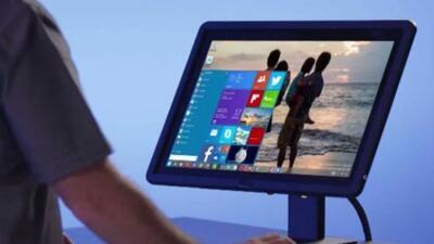 Microsoft mostró un adelanto técnico de lo que será windows 10.