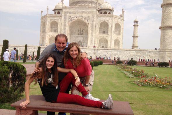 Toda la familia De Molina la está pasando sensacional en su viaje a la I...