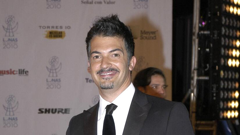 El actor y conductor Fernando del Solar