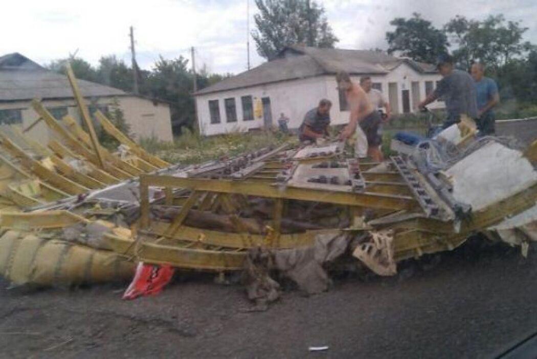 El aparato se estrelló en la región de Donetsk (este ucraniano), escenar...