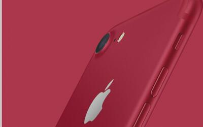 ¿Por qué Apple cambió a rojo el color del iPhone 7?
