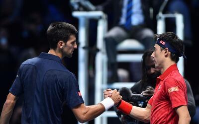 Novak Djokovic derrotó a japonés Kei Nishikori.