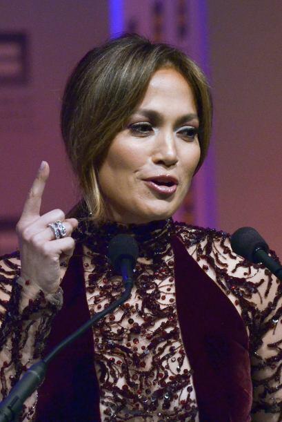 """Además de ser cantante y actriz la """"Diva del Bronx"""" Jen..."""