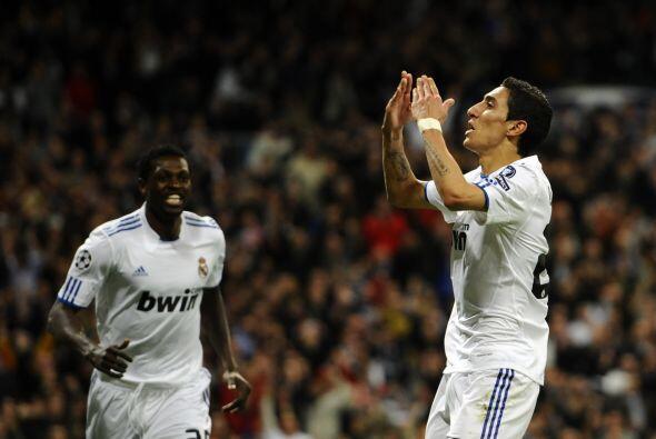 Y el argentino Angel Di María cerró el marcador con una gr...
