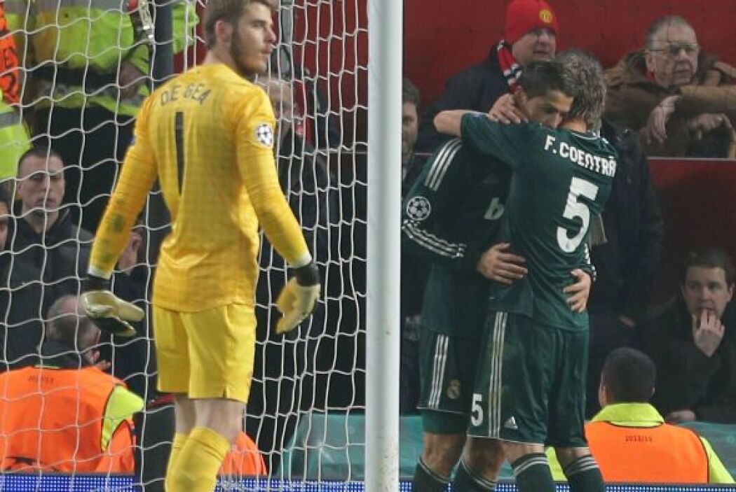 Cristiano Ronaldo le ha marcado a sus ex equipos (Sporting y Manchester)...