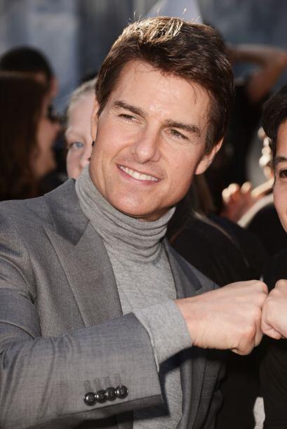 No cabe duda que Tom Cruise es miembro de la realeza de Hollywood.  Pero...