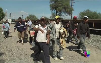 Aumenta la cifra de migrantes centroamericanos que llegan a México