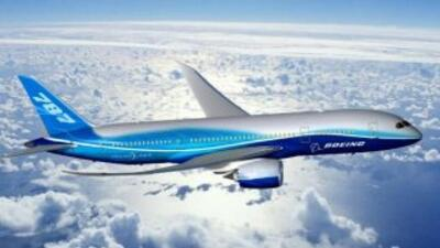 Boeing 787 Dreamliner. (Imagen tomada de Twitter).