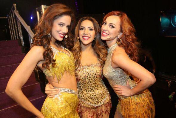 """Las bellas del """"Team Denise"""" hicieron un 'performance' al esti..."""