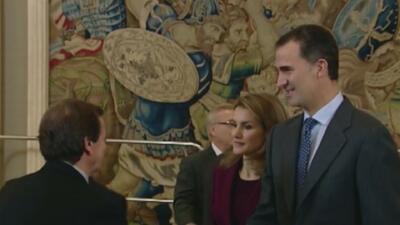 El príncipe Felipe reinará como Felipe VI de España