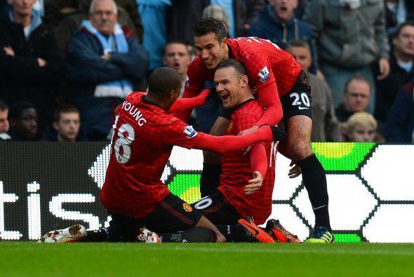 No sólo le dio la victoria al Manchester United sobre el Manchester City...