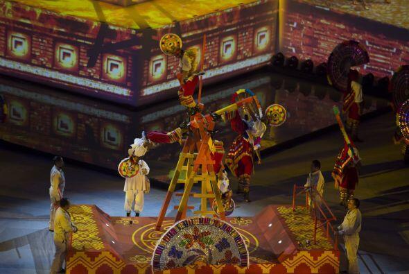 La danza de los Quetzales.
