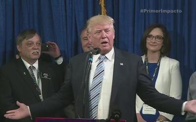 Donald Trump es el candidato oficial del Partido Republicano a la presid...