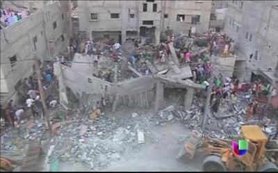 La crisis en el Medio Oriente se empeora, Israel y Palestina en guerra d...
