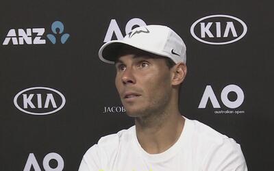 """Rafael Nadal: """"Cuando estás fuera por un tiempo tienes que recuperar todo"""""""