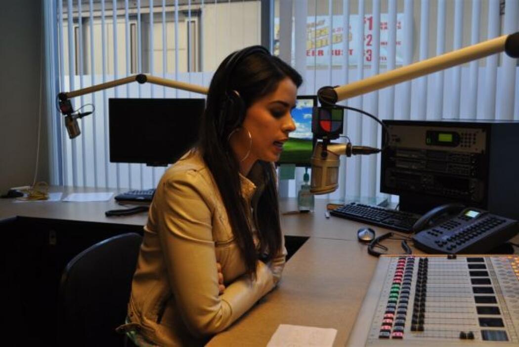Vanessa dio su entrevista en  'Spanglish'.