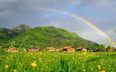 ¿Sabías que el arcoirirs es distinto para cada persona?