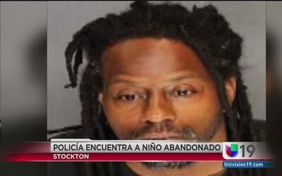 Autoridades de Stockton rescatan a un niño abandonado