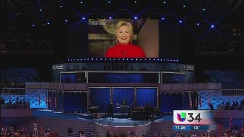 El poder del mensaje de Hillary Clinton