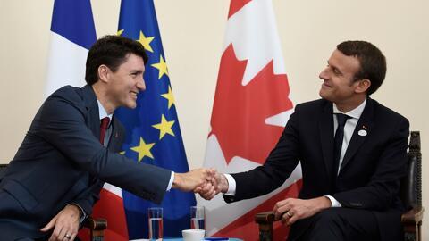 Trudeau y Macron: ¿estamos ante el nuevo 'bromance' de la política?
