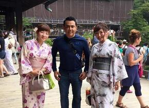 Las vacaciones de Raul Brindis en Japón