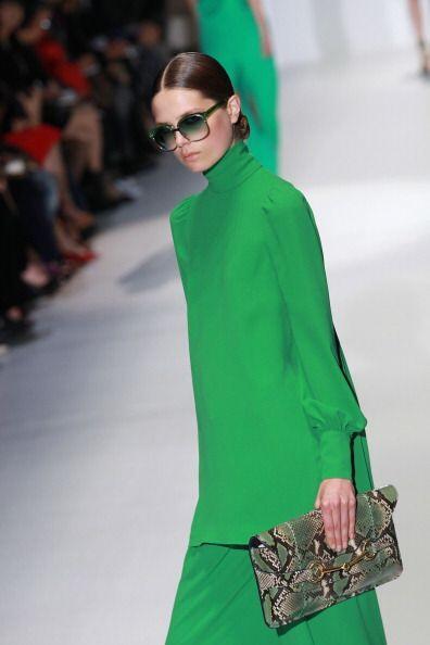 El verde viene desde tiempo atrás pisando fuerte y se une al rojo apagad...