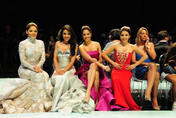 Emoción y nervios sintieron las chicas por debutar como modelos en la pa...