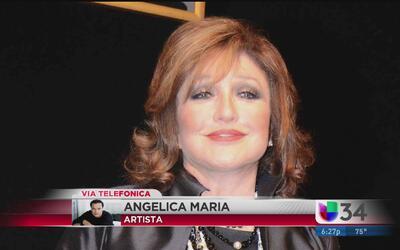 Angélica María muestra su pesar por la muerte de Juan Gabriel