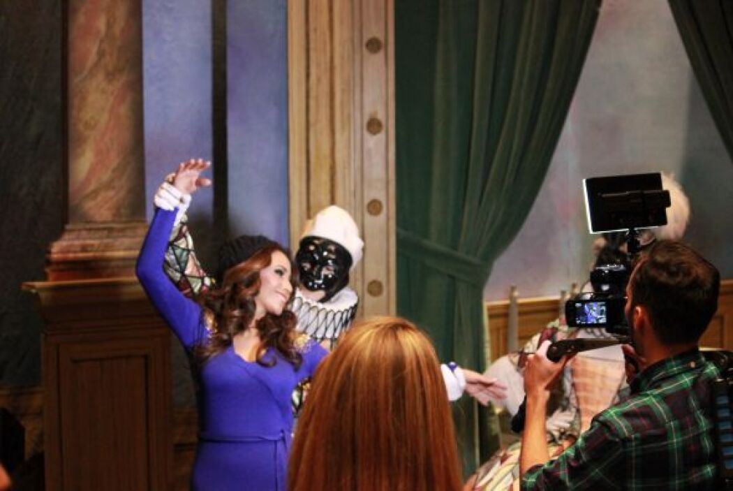 Los dotes de bailarina de Alejandra se notaban a primera vista.