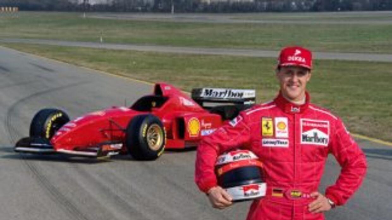 Michael Schumacher, una leyenda en vida
