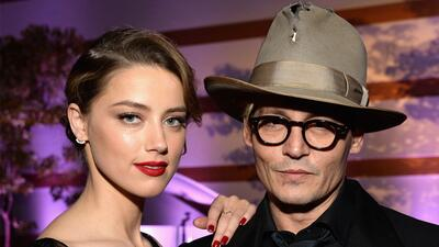 ¡Johnny Depp y Amber Heard se casaron!