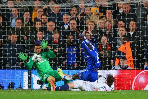 Al minuto 87 llegó la acción que hizo estallar el estadio del Chelsea co...