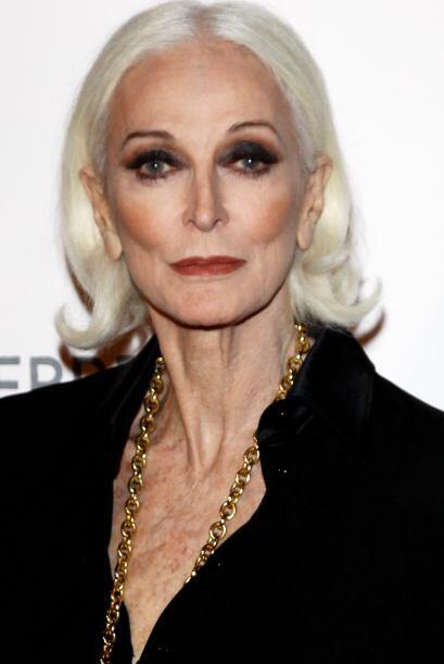Pese a su edad, esta mujer posee una belleza imponente.