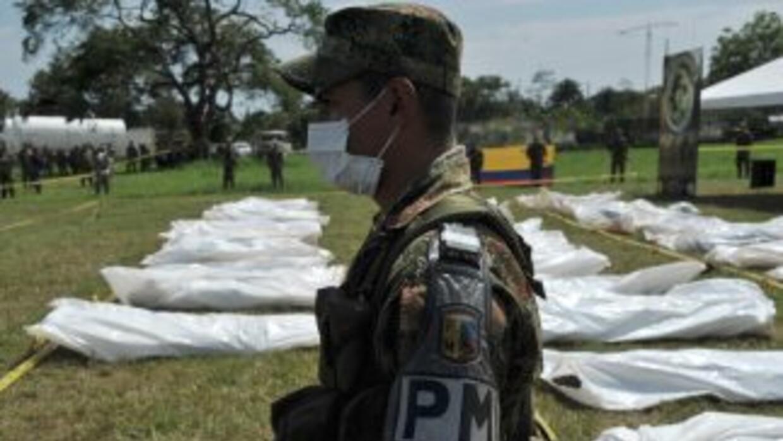 Forenses colombianos descartaron la muerte del jefe de las Fuerzas Armad...
