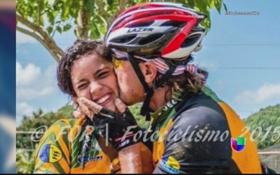 Sufre el deporte accidente que dejó joven ciclista con muerte cerebral
