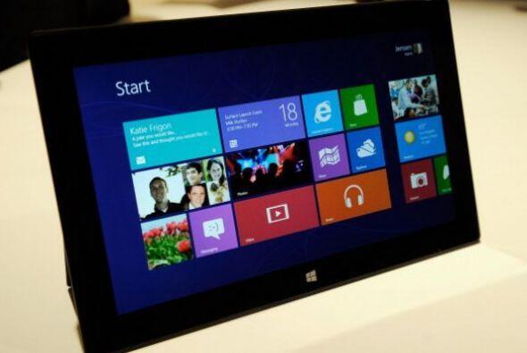 La tableta de Microsoft. A mitad de año el gigante informá...