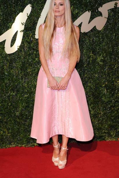 El vestido de Laura Bailey tampoco fue uno de nuestros favoritos, &iques...