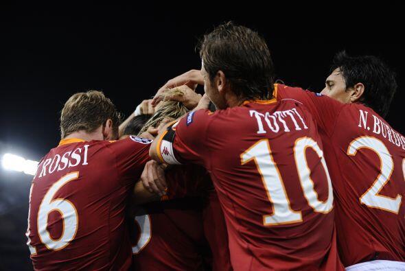 La Roma aún permitió un gol en su contra, pero al final se quedó con el...